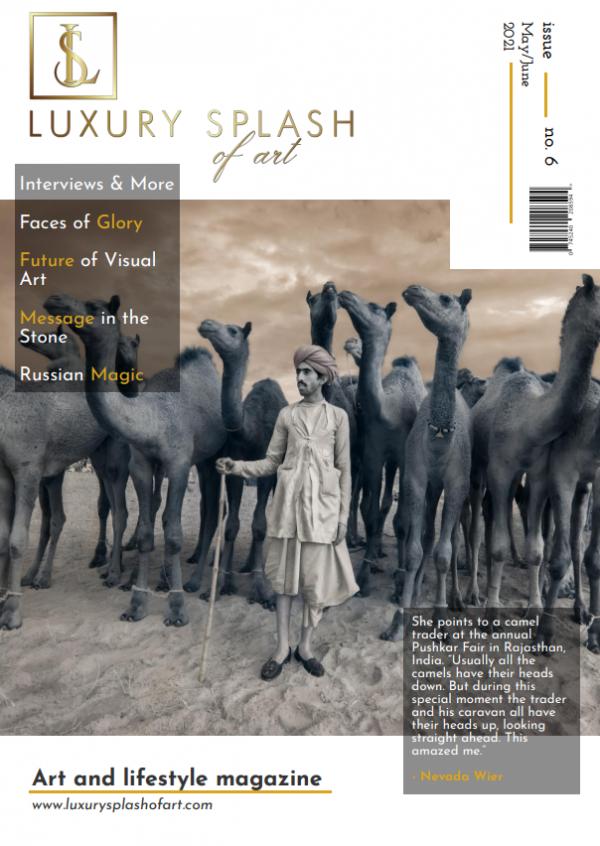 Luxury Splash of Art Magazine – May/June Issue 6