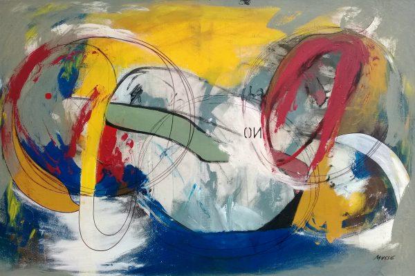 Carlos Musse Infinite painting By Claudia Laudanno