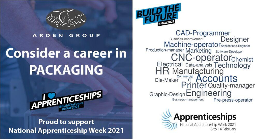 Arden supports National Apprenticeship Week