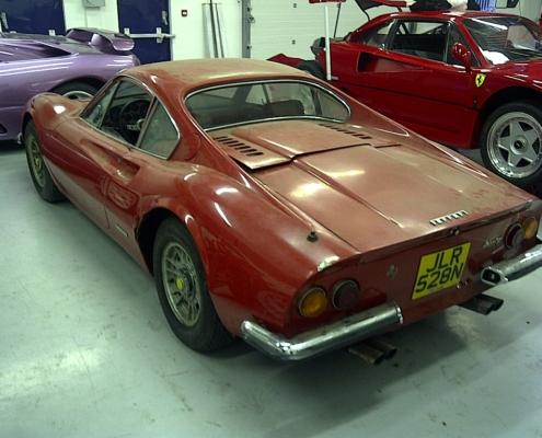 Ferrari 246 dino restoration