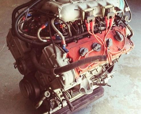 Ferrari F40 Engine