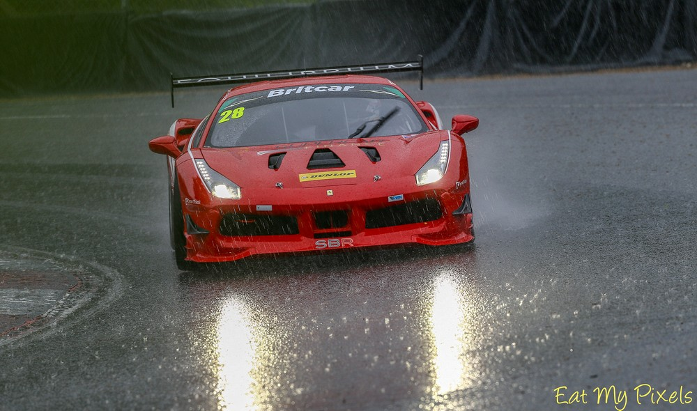 Wet First race just after the driver change!