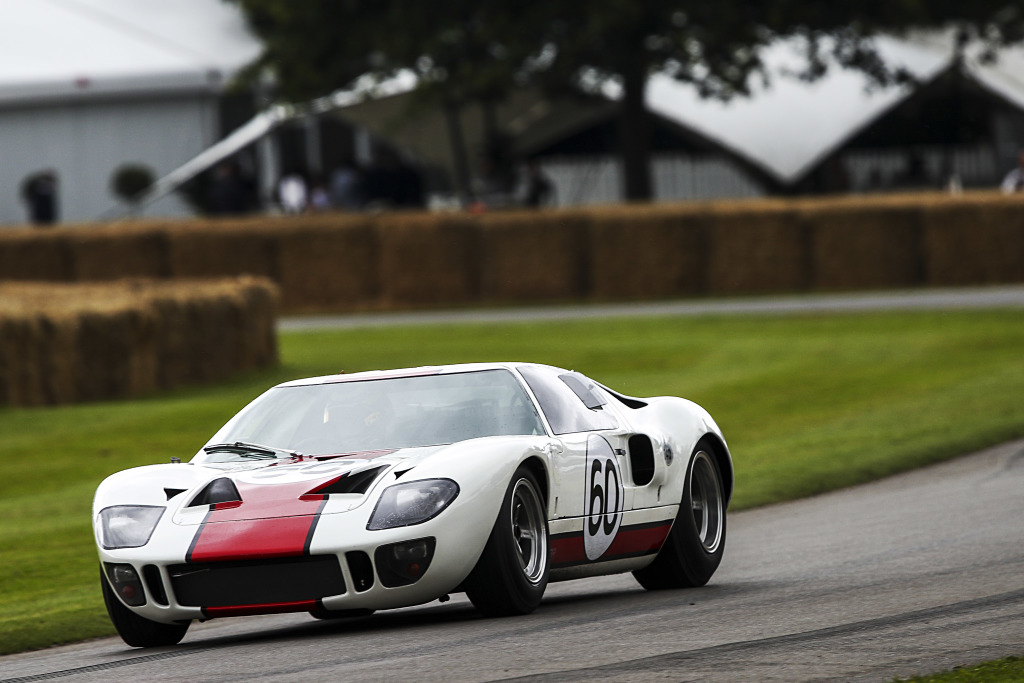 SBR Ford GT40 at Goodwood festival of speed