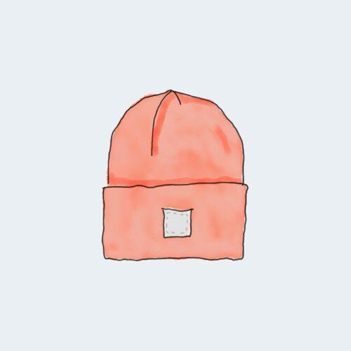 rouge toy Bonnet
