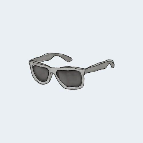 Bleue toy Des lunettes de soleil