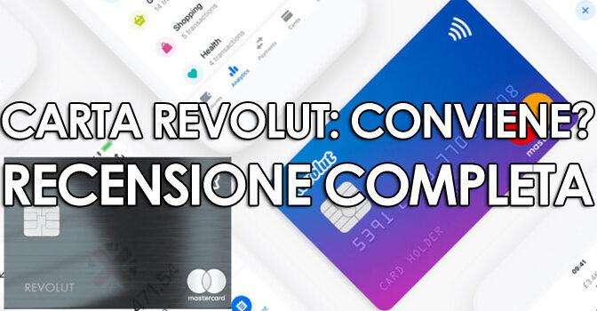 copytradingitalia.com - CARTA REVOLUT: LA RECENSIONE COMPLETA
