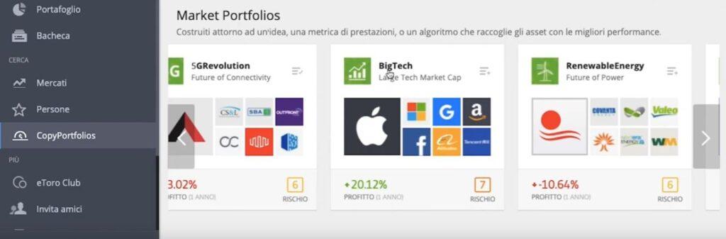 www.copytradingitalia.com - Il copytrading di eToro funziona? - portafoglio BigTech