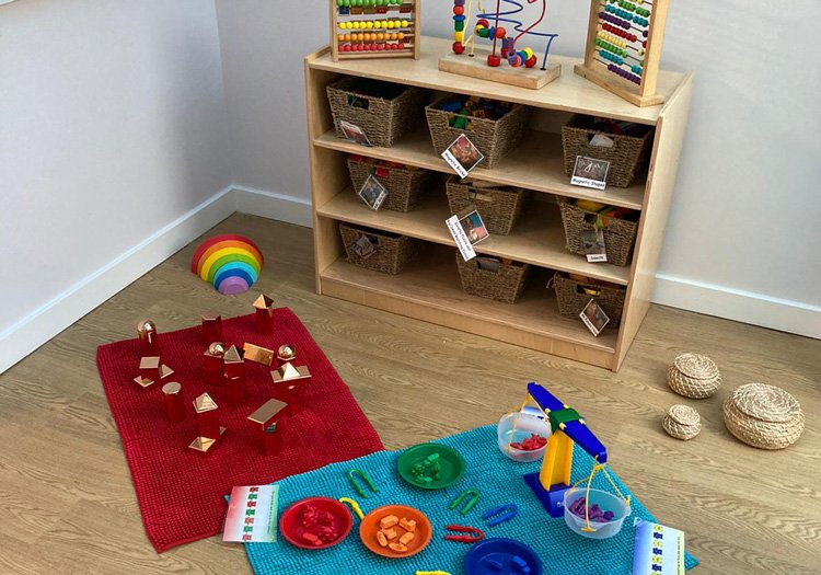 Toys and playmat at Crystal Palace Nursery