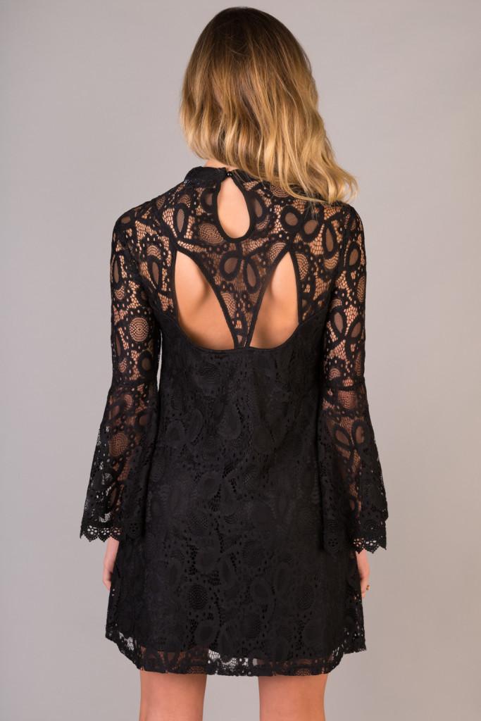 bella-high-neck-lace-detail-swing-dress-back