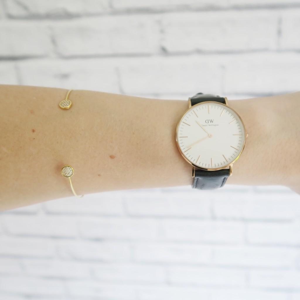 daniel wellington watch accessorize bracelet