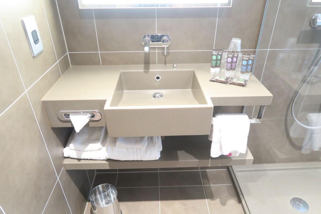 Novotel London Blackfriars bathroom review