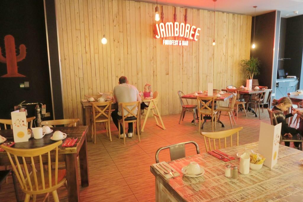 Novotel London Blackfriars review Jamboree