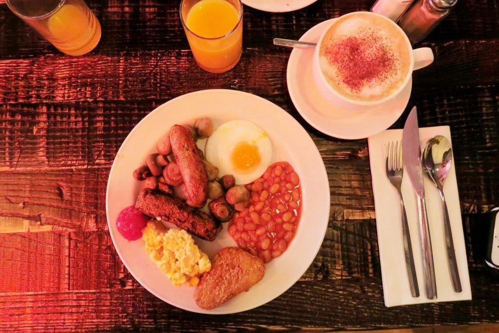Novotel London Blackfriars review breakfast 7