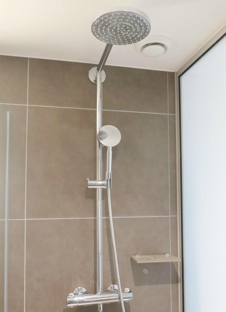 Novotel London Blackfriars review shower