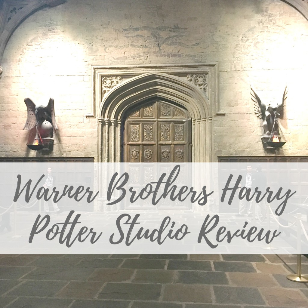 warner brothers harry potter studio tour review