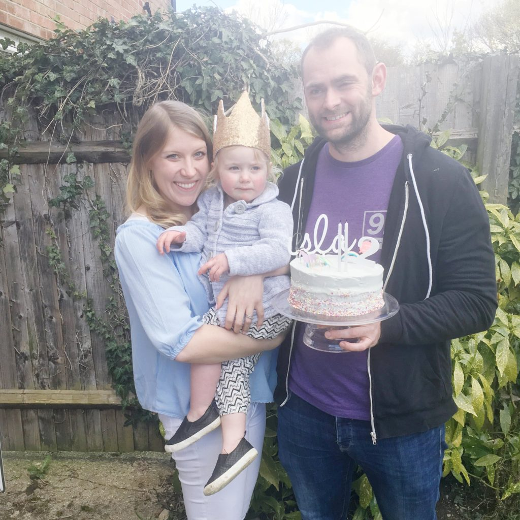 2nd birthday crown and cake