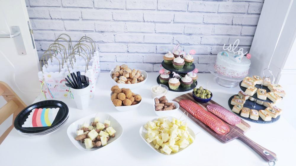 birthday party buffet