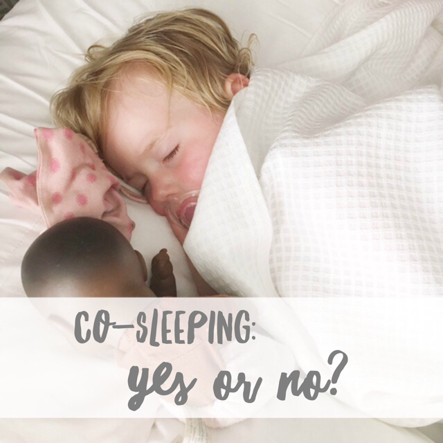co-sleeping yes or no