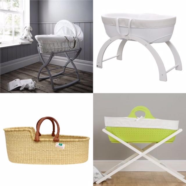 bedside cot or moses basket