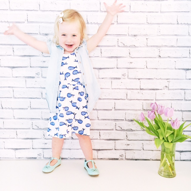 weekend tot style hm whale dress