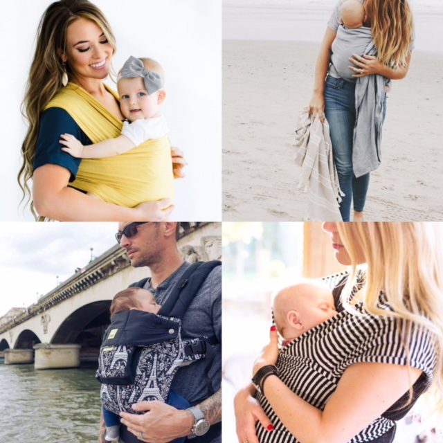 baby wearing wrap sling carrier picks 2