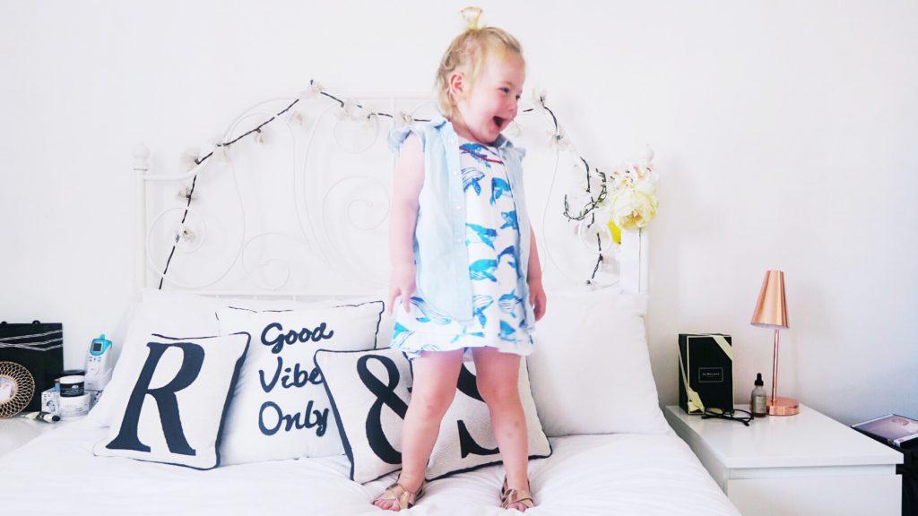 cute kids whale dress