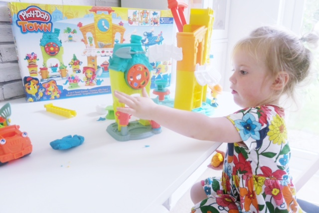 hasbro toy tribe playdoh town review toddler