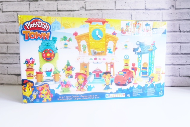 hasbro toy tribe playdoh town review