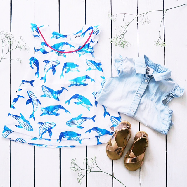 hatley kids clothes whale dress toddler ootd