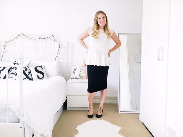 maternity pregnancy workwear fashion ootd asos