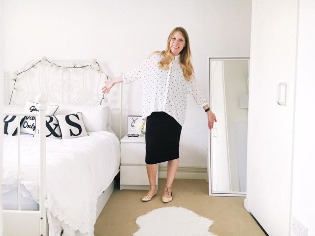 maternity pregnancy workwear fashion ootd new look asos