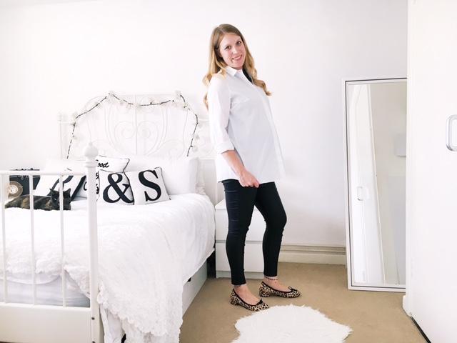 maternity pregnancy workwear fashion ootd next