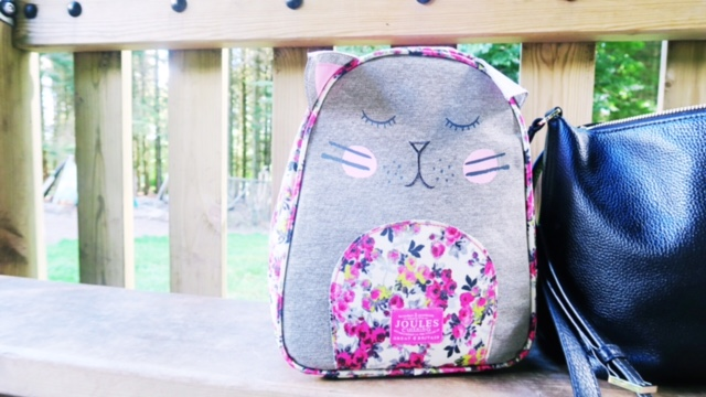 back to school with house of fraser joules lunch box