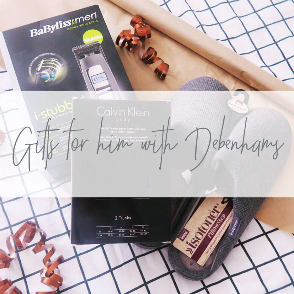 gifts for him with debenhams