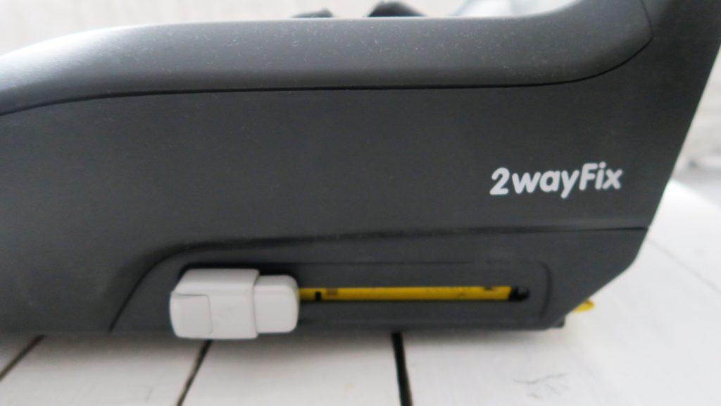 2WayFix isofix base