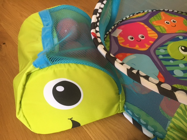 Infantino Grow with me Activity Gym & Ball Pit review