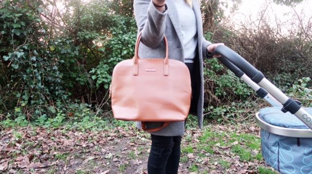 BabyBeau Charlie changing bag review