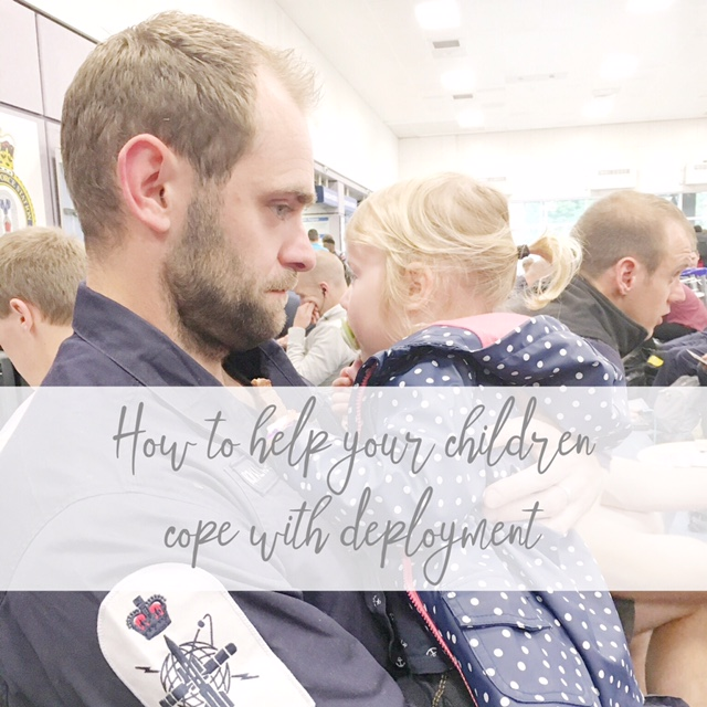 how to help your children cope with deployment