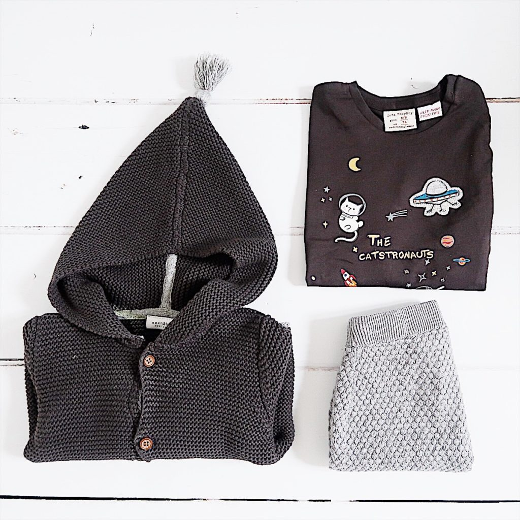 what my kid wore Wednesday baby outfit next Zara