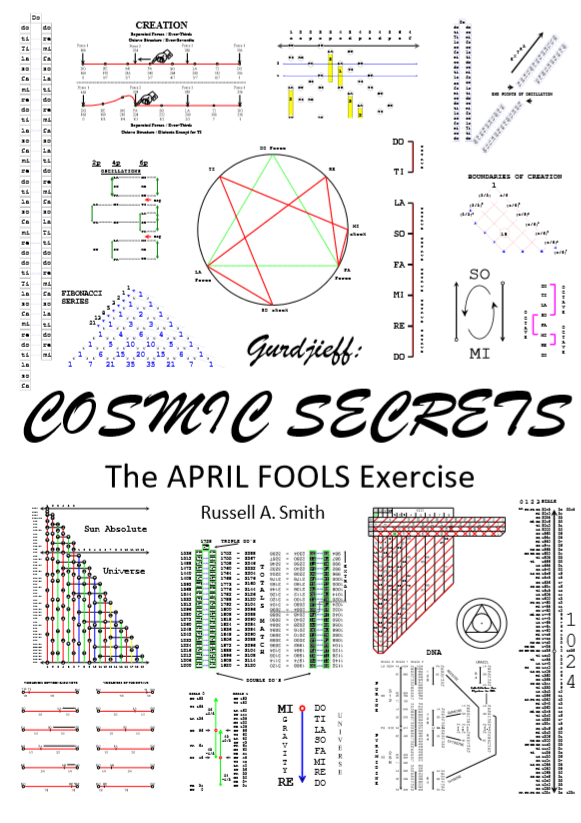 The April Fools Exercise - Eight-Days to consciousness. Gurdjieff: Cosmic Secrets