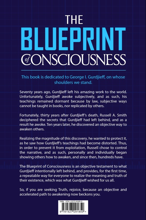 The Blueprint of Consciousness - Front Page