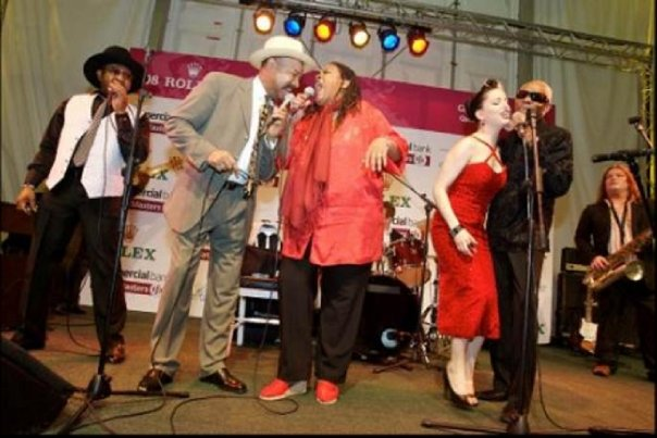 2008 Tour of the Middle East (Doha, Qatar)  with Johnny Mars, Angela Brown, Imelda May and Jimmy Thomas