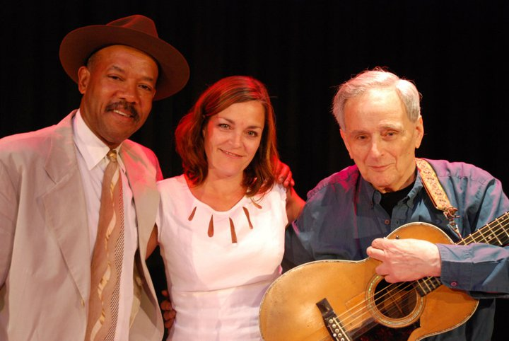 Michael with Dr. Wendy McMahon and Tom Paley at the University of East Anglia, Norwich UK, 2011