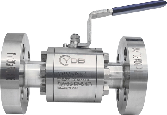 Forged-Flanged-End-Ball-Valves