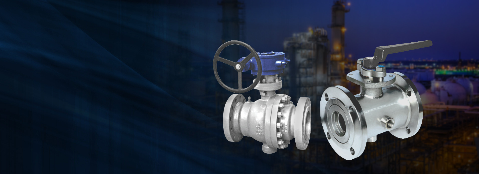 YDB LLP valves products: Jacketed Ball Valves, Industrial Process Floating Ball Valves
