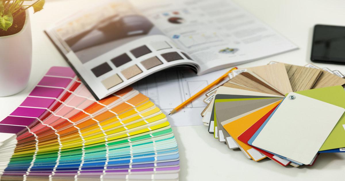 designers colour swatch