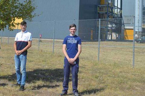 Mercer Zellstoffwerk Stendal Auszubildende