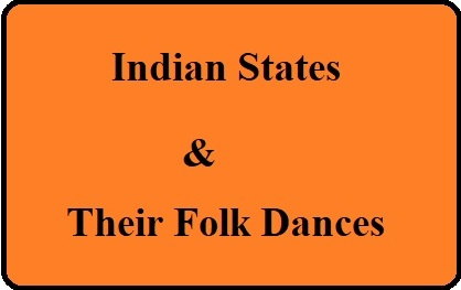 Indian states and their folk dances