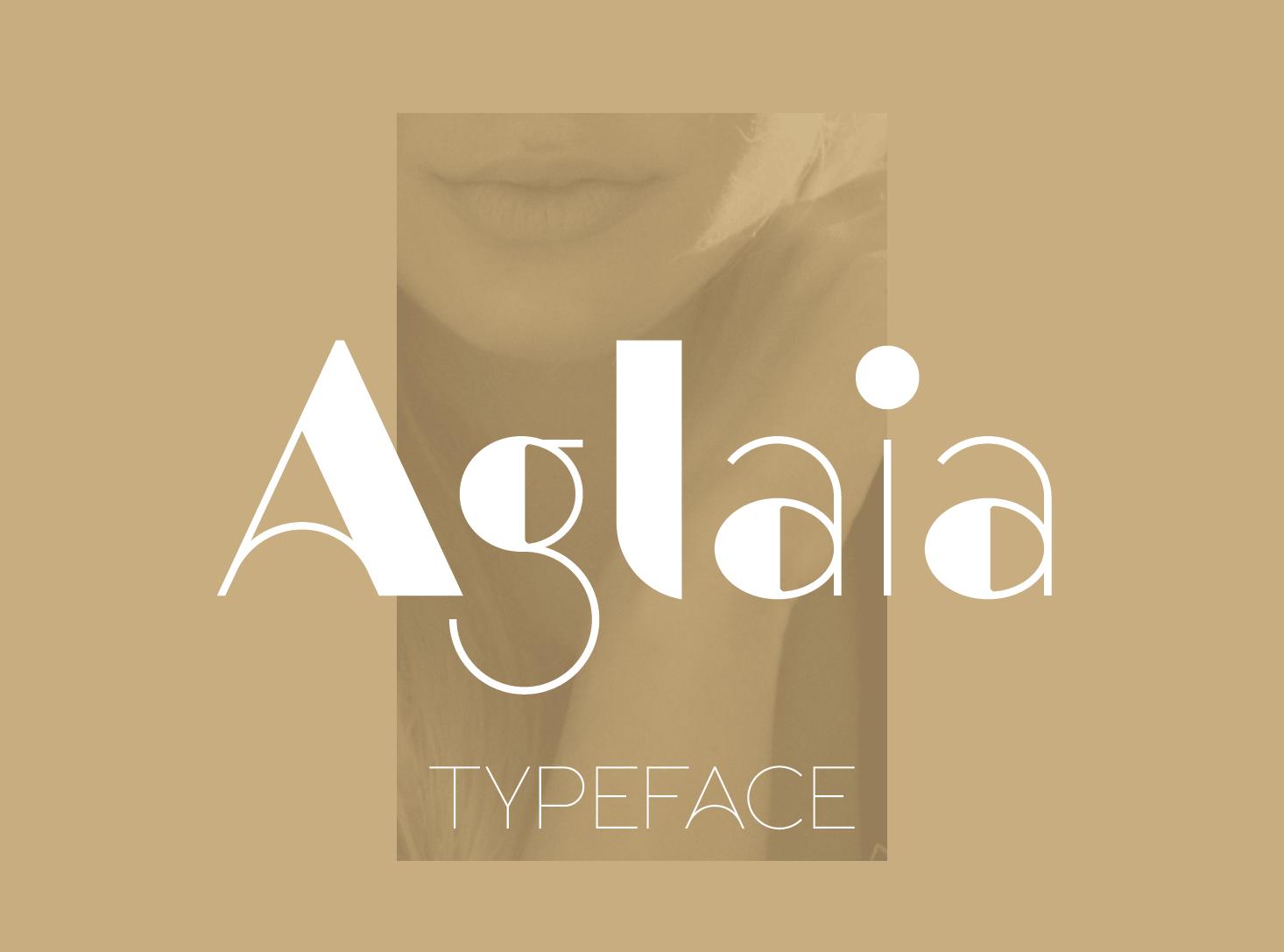 Aglaia typeface