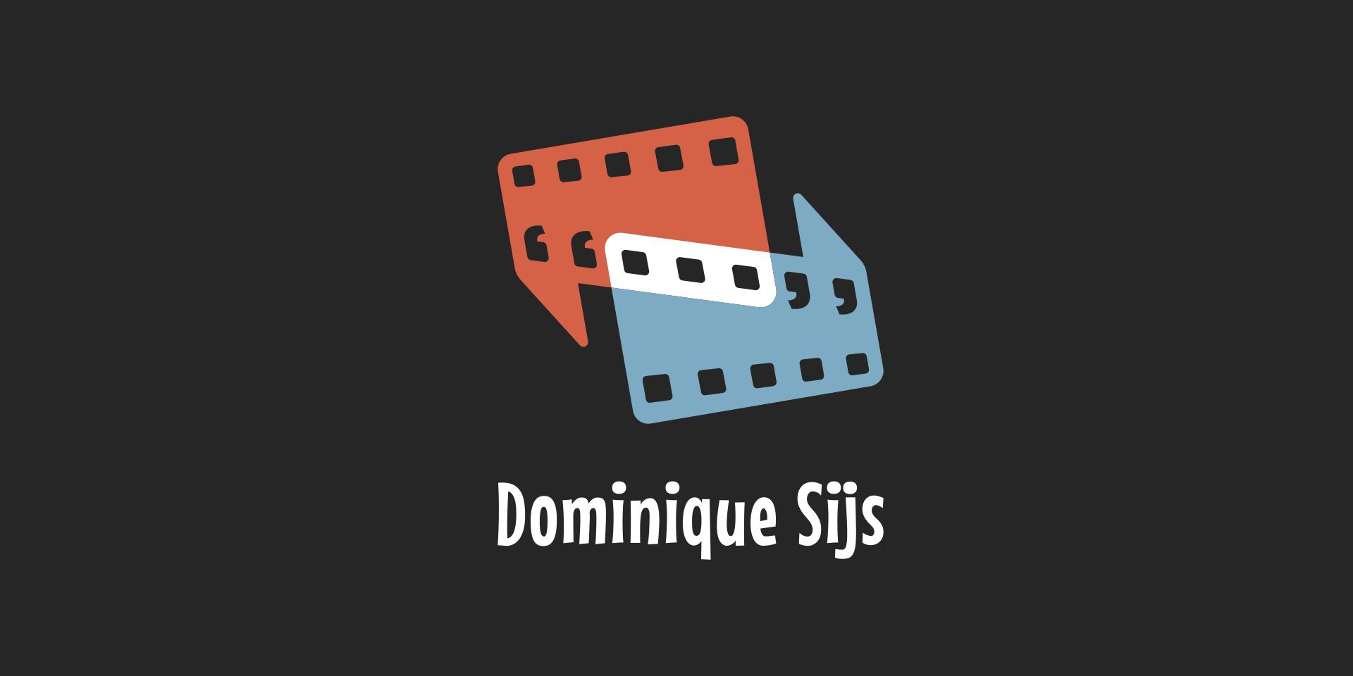 Dominique Sijs logo on black